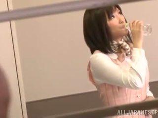 Mina minamoto các đẹp hàn quốc văn phòng nymph has crashed