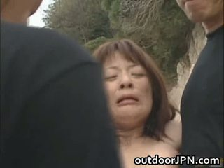Akane Mochida Lovely Asian Babe Gettin...