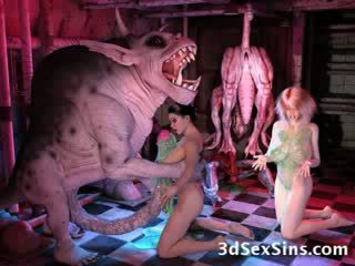 3d dibujos animados hentai dibujos animados bizarro tentáculo monstruo fetiche extremo ogre gigante dibujos animados dibujo animado manga friki elf alien corrida fea