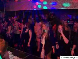 gruppen-sex, mädchen, tanz