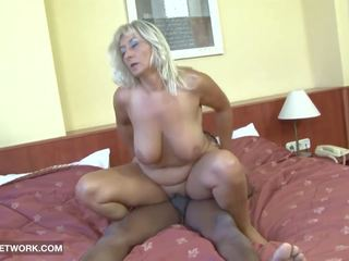 Fat Mature Really Hot Craving Black Cock in Her Pussy