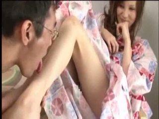 japanse, fetisch, pussylicking