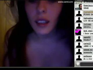 18yo sexy pretty spanish teen fingering on webcam