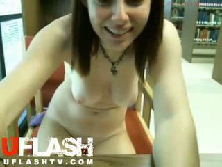 Hubo't hubad sa publiko library real baguhan tinedyer dildo sa webcam