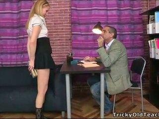 सेक्सी lesson में वाइल्ड seduction