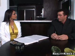 big boobs, big tits, office
