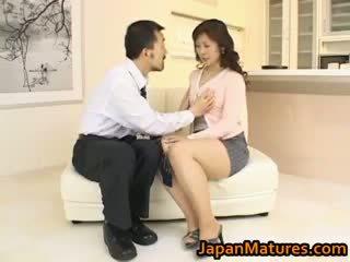 Hitomi kurosaki reif asiatisch schnecke part3