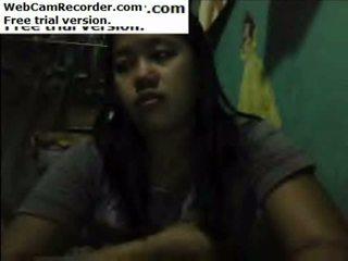 mollig, webcam, tonen
