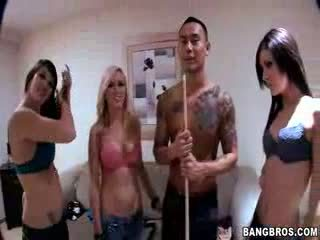 blowjobs, babes, foursome
