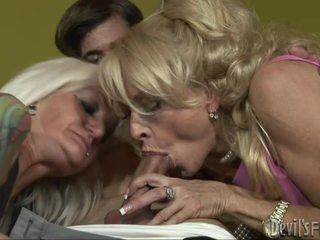 hardcore sex, тройка, възрастни / milf