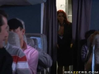 Passengers Having Quickie In An Airplane Shitter!