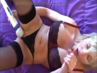 Playing with Mommy on Bed POV, Free Mature Porn Video 16