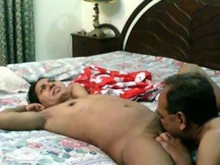 Pakistani hairy pussy fucked hard