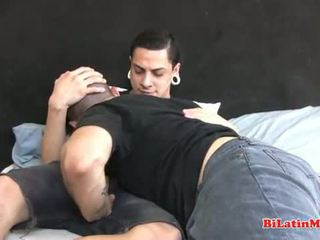 Tatted Latino fucking tight ass