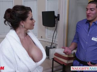 Mesum mom eva notty gives titjob