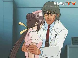 sairaanhoitaja, anime porno