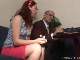 Sexo lesson con cachonda profesora