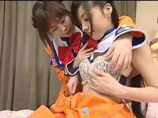 lesbiennes, japan, tiener