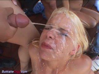 Extrem bukkake gangbang mädchen, kostenlos deutsch porno video 6b