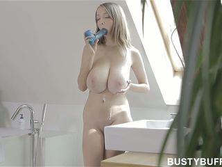 brunette, jeune, orgasme