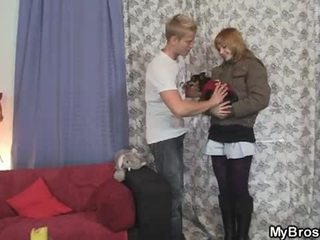 Younger brother fuck older brother's girlfriend