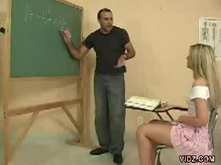 Kívánós tanár diák teszi tanuló előadás punci