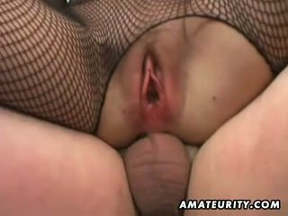 Amateur Milf homemade anal with creamp...
