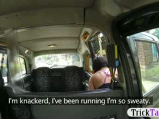 Lucky Scottish Cab Driver Fuck His Hor...