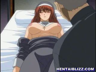 Hentai nun gets fucked by perverted priest