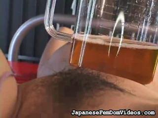 Valinta of hämmästyttävä leikkeit alkaen japanilainen femdom videot sisään bdsm porno niche