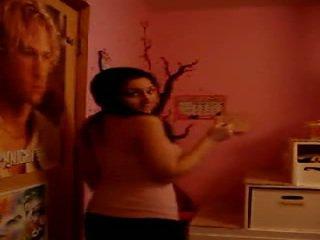 Arab teen stripping