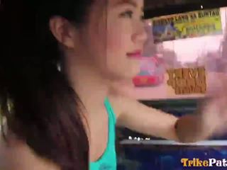 Dễ thương filipin rất trẻ teenager mitch từ trikepatrol