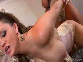Velký titty lovers mokrý sen připojenými opčními skutečný s kelly madison