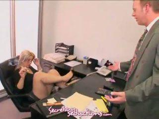 Sneaky Secretary Sara Vandella