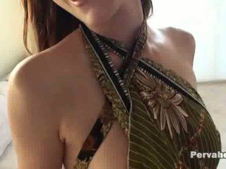chick shows us her goods