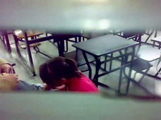 Nascosto camera bj a il in classe
