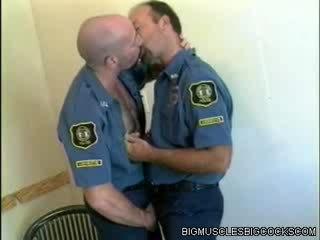 Hot Cop Bodybuilders