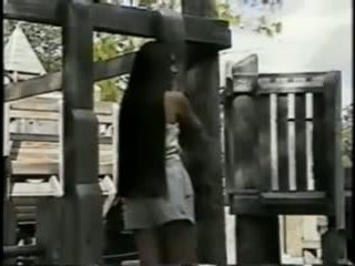 Amy Super Long Hair Play in Park, Free Porn ab