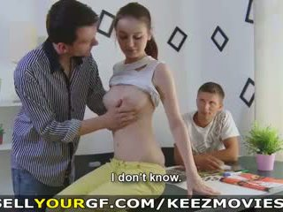 Sell your gf - she wants more nagt pul and sikiş