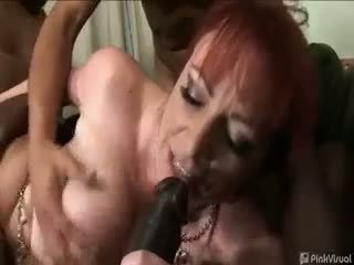group sex, blowjob, redhead