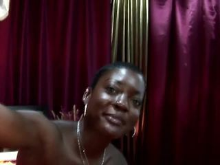 Ebony hooker assfucked by tourists coc...