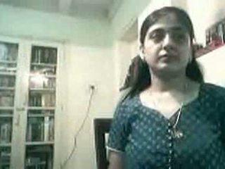 Έγκυος ινδικό ζευγάρι γαμήσι επί web κάμερα - kurb