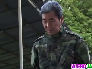 Wierd japão: japonesa milf got tied para cima e tortured nu
