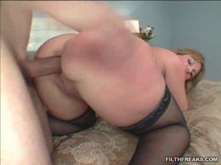 hardcore sex, pończochy seks