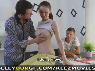 jeune, éjaculations, gros seins