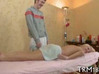 Gratifying Beautiful Chick With Massage