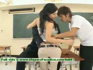 Sora aoi innocent sexy japans student is getting geneukt