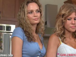 Girlfriendsfilms strapped lesbica milf trio