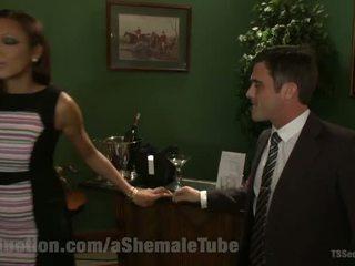 Yasmin lee seduces political candidate