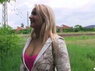 Pretty Czech girl Lana pounded for money